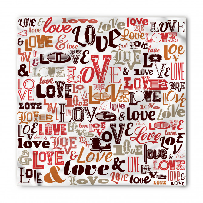 Aşkın Coşkusu Bandana Fular