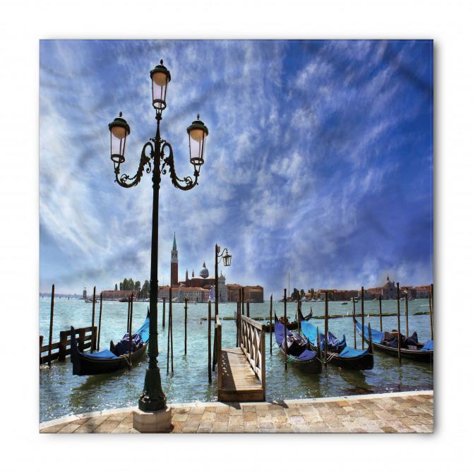 Venedik Gondolları Bandana Fular