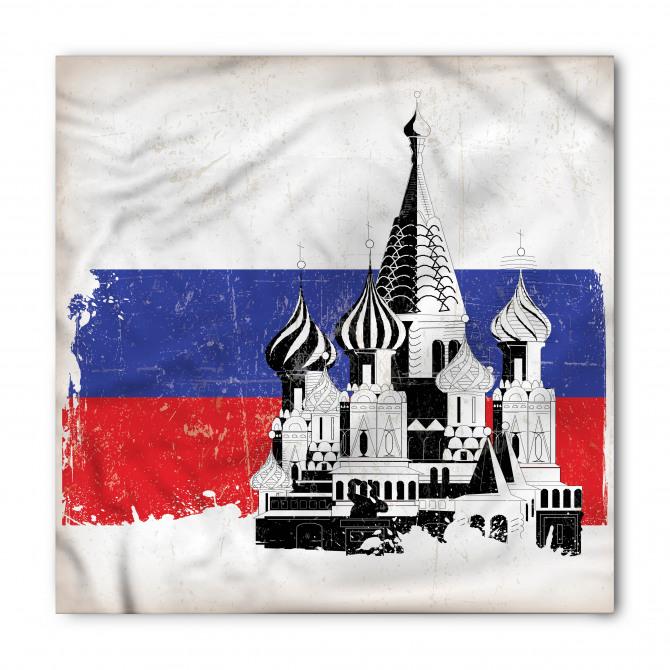 Kremlin Sarayı Desenli Bandana Fular