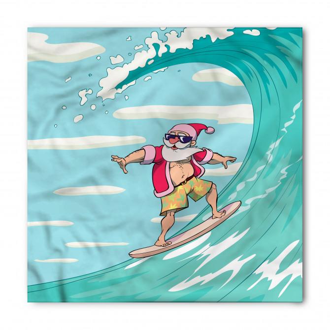 Sörfçü Noel Baba Bandana Fular