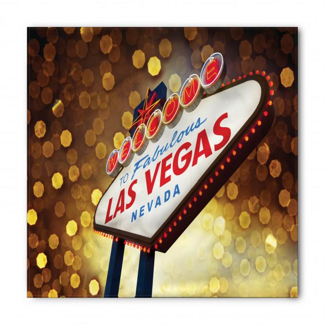 Las Vegas Tabelası Bandana Fular