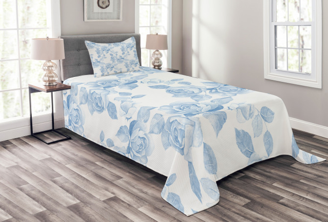 Floral Dreamy Branch Bedspread Set