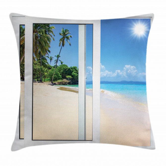 Island Scenery Traveling Pillow Cover