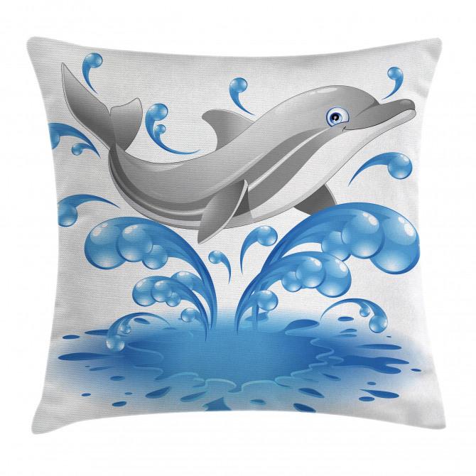Animal Sealife Cartoon Pillow Cover