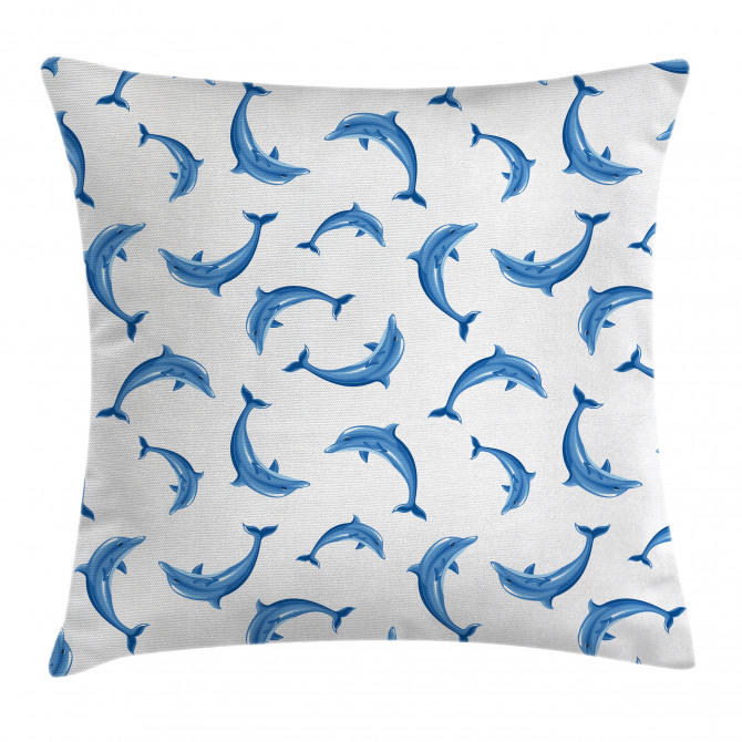 Wildlife Under the Sea Pillow Cover
