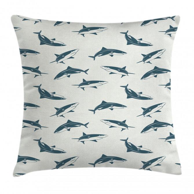 Dangerous Underwater Pillow Cover