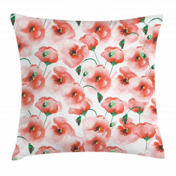 Artful Flower Bouquet Pillow Cover