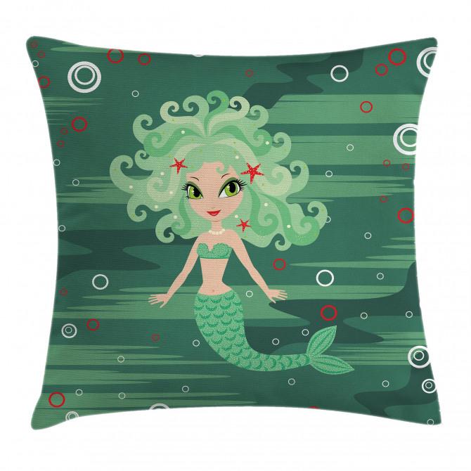 Starfish Sea Cartoon Pillow Cover
