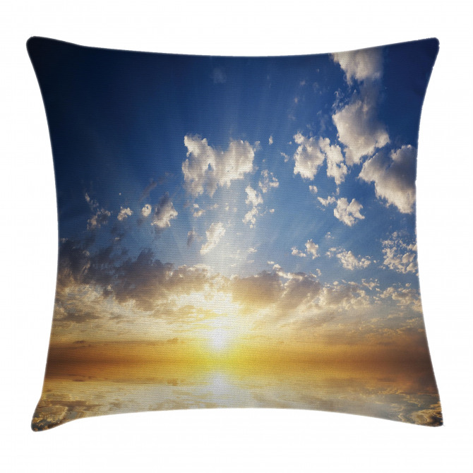 Sunset Reflection on Sea Pillow Cover