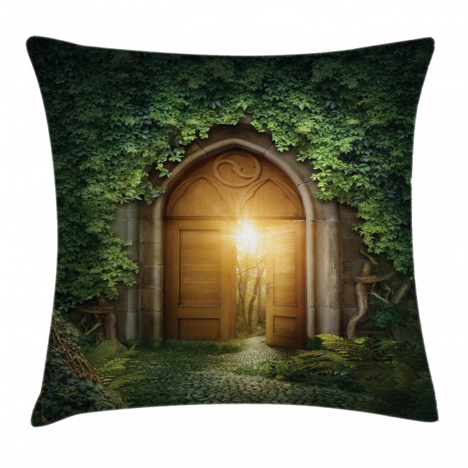 Mystic Vivid Sun Beams Pillow Cover