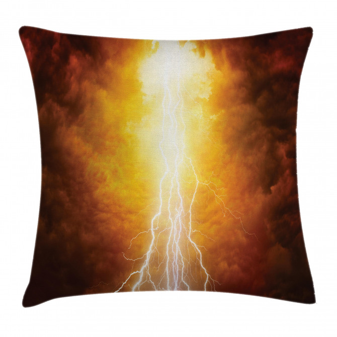 Vivid Apocalyptic Day Pillow Cover