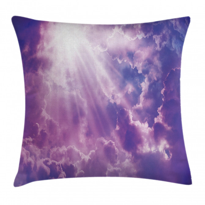 Heavy Clouds Sunlights Pillow Cover