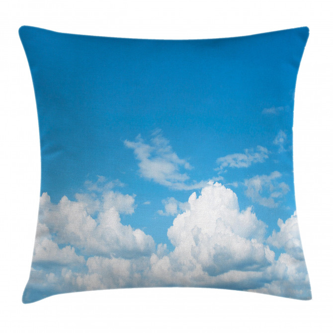 Cloudy Calming Scene Pillow Cover