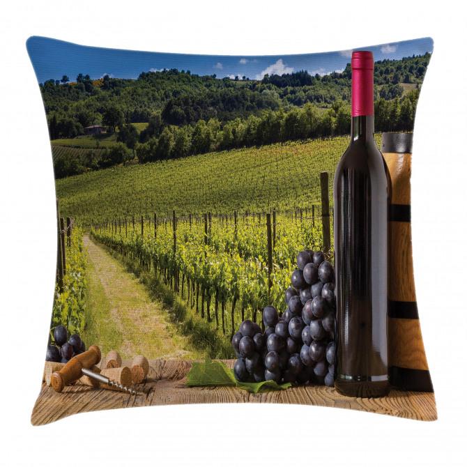 Vineyard Tuscany Grape Pillow Cover