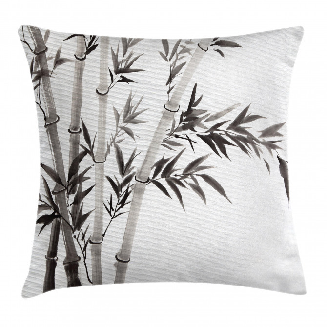 Traditional Bamboo Leaves Pillow Cover