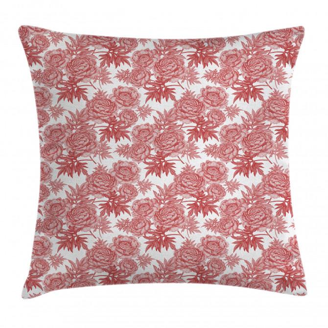 Vibrant Garden Flowers Pillow Cover