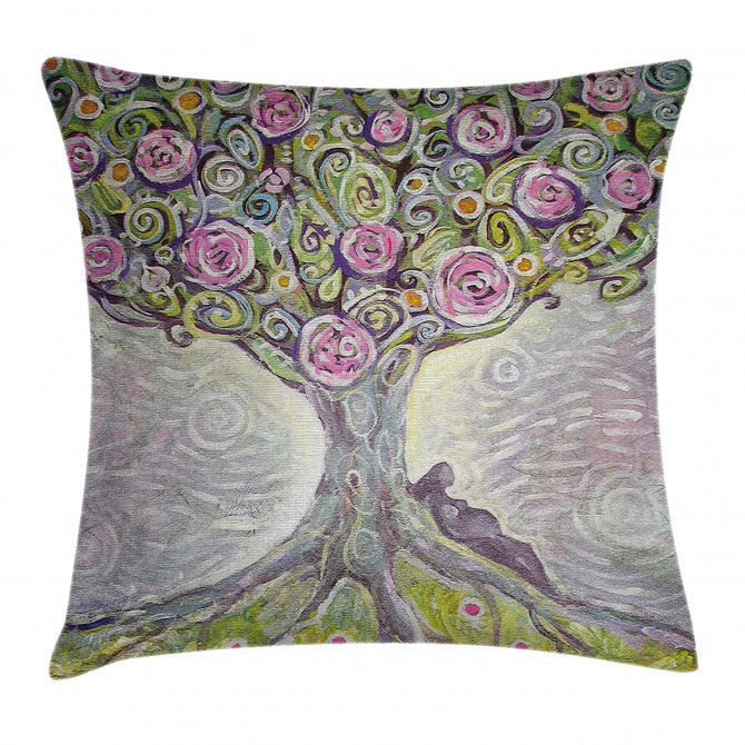 Spring Love Universe Pillow Cover