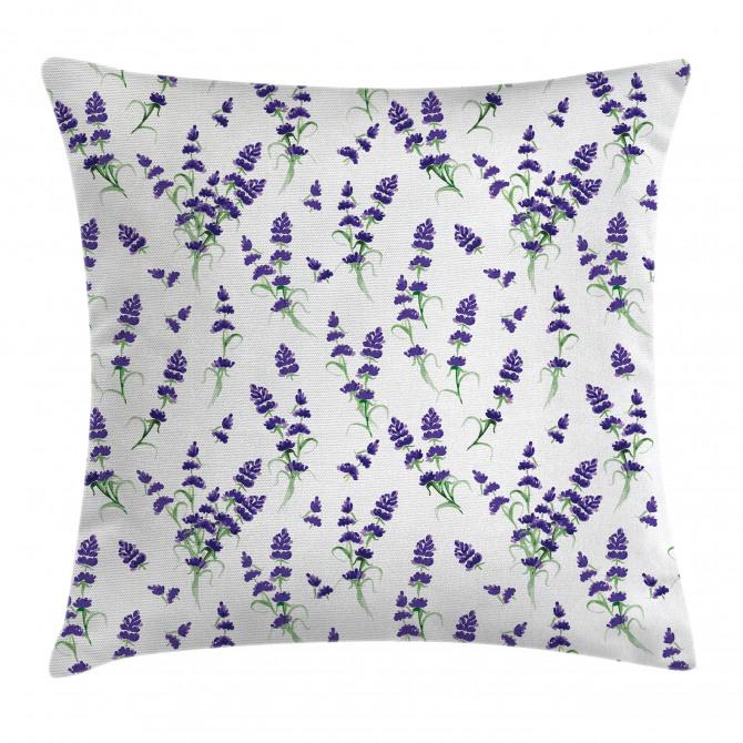 Watercolor Art Plant Pillow Cover