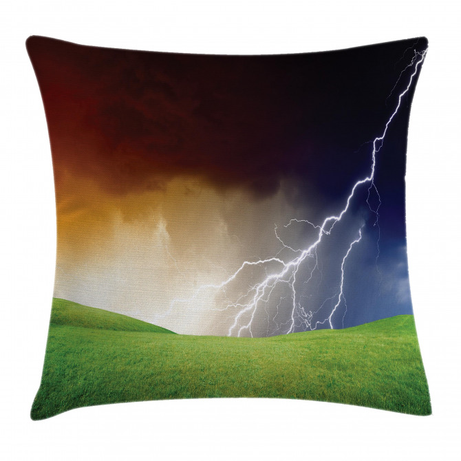 Thunder Flash Field Pillow Cover