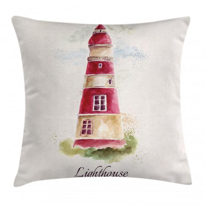 Pastel Watercolors Pillow Cover