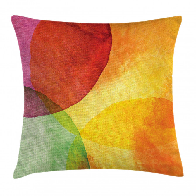 Watercolor Modern Art Pillow Cover