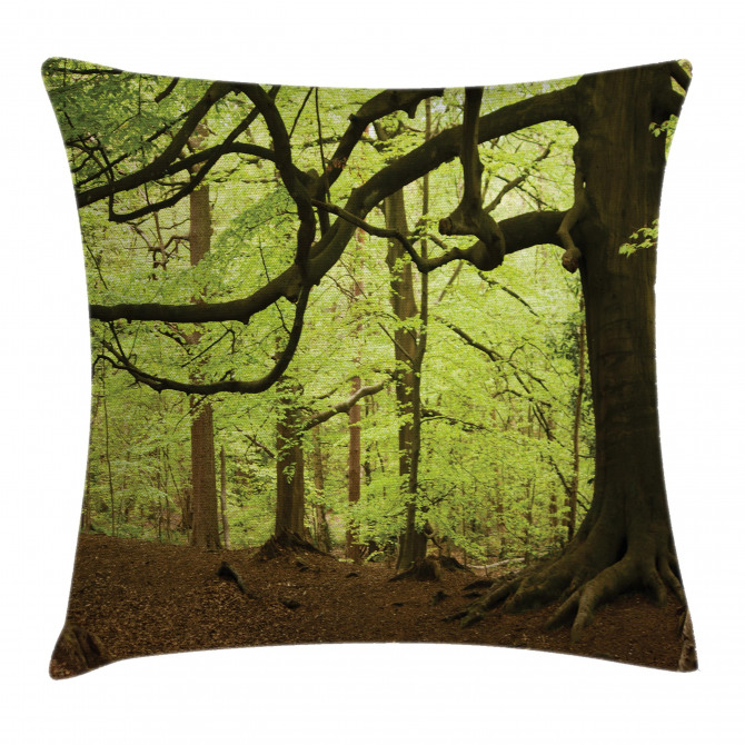 Woodland Natural Beauty Pillow Cover