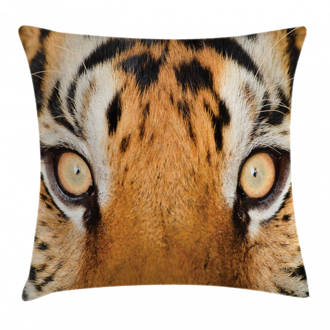 Tiger Eyes Wild Pillow Cover