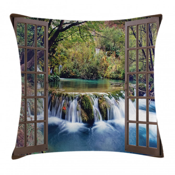 Deep Down in Forest Pillow Cover