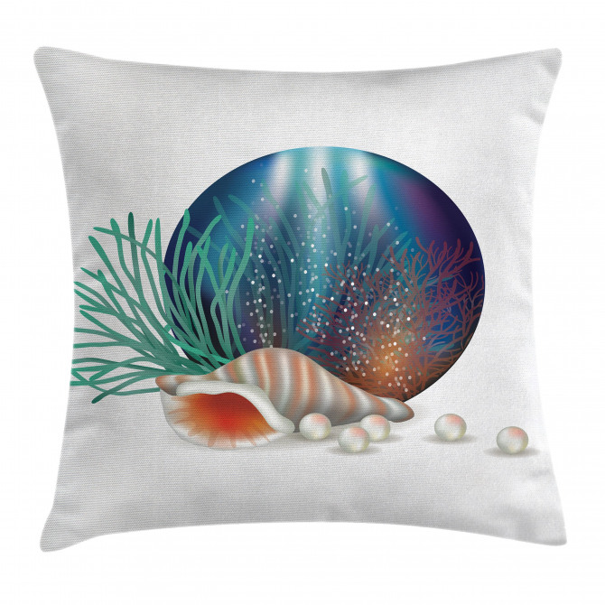 Underwater Ocean Marine Pillow Cover
