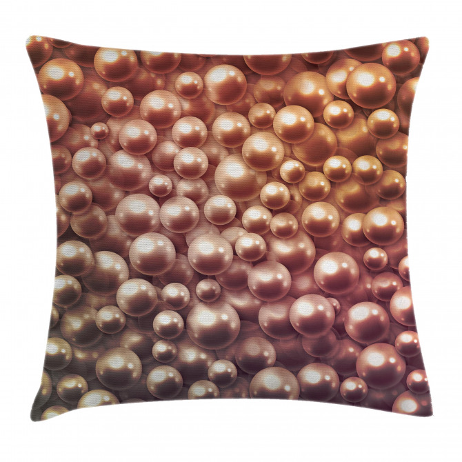 Various Sized Figures Pillow Cover