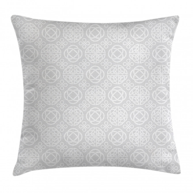 Tribal Knots Boho Irish Pillow Cover