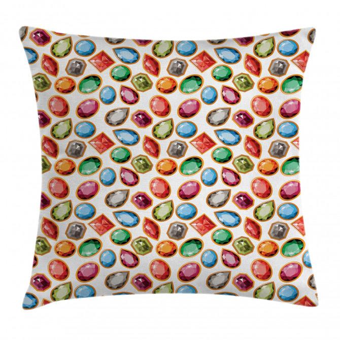 Topaz Diamonds Art Pillow Cover