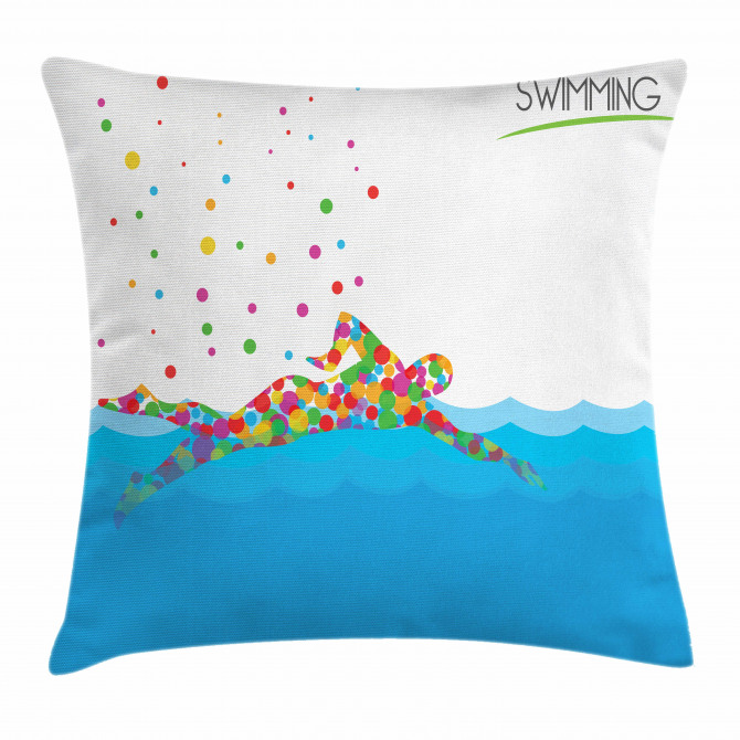 Swimming Pool Artsy Pillow Cover