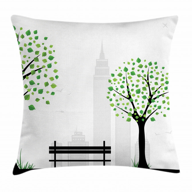 Urban and Rural Harmony Pillow Cover