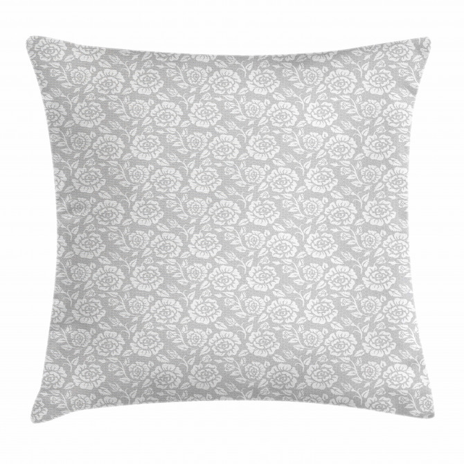 Vintage Inspiring Flowers Pillow Cover