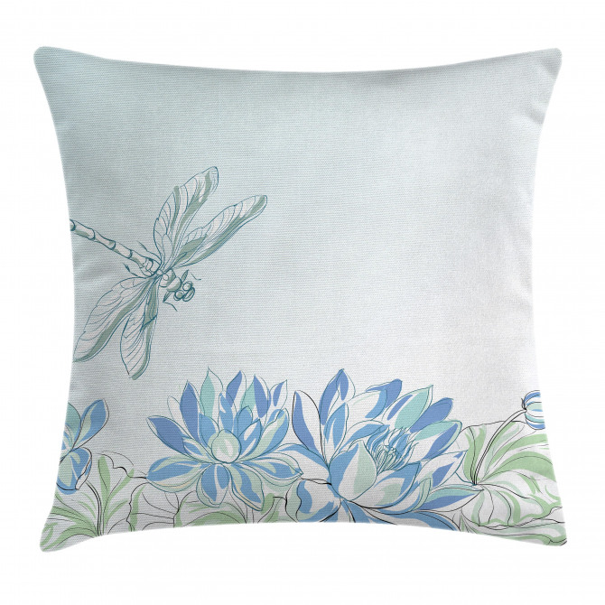 Waterlilies Nature Pillow Cover