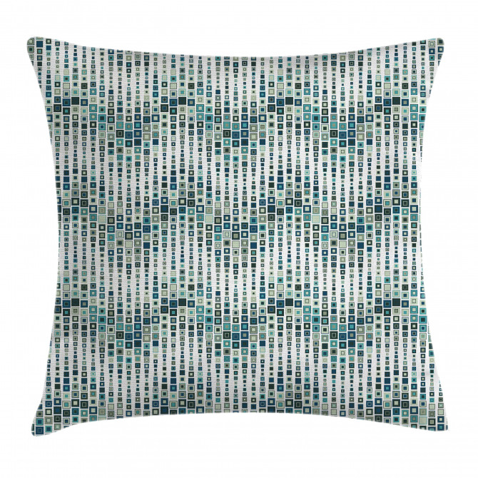 Artful Wave Square Pillow Cover
