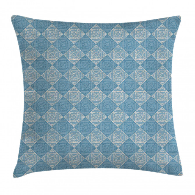 Ethnic Egyptian Form Pillow Cover