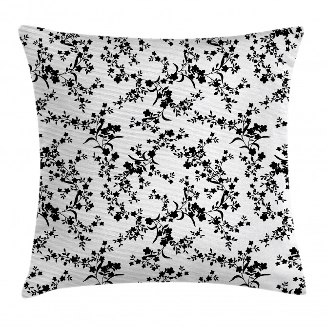 Baroque Blooms Vintage Pillow Cover