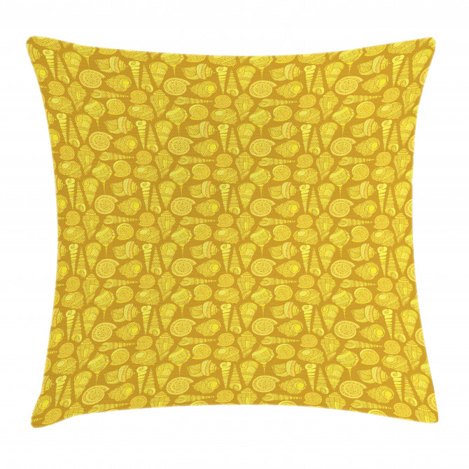 Stylized Ornamentals Pillow Cover