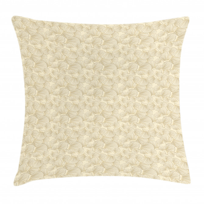 Interlacing Clams Motif Pillow Cover