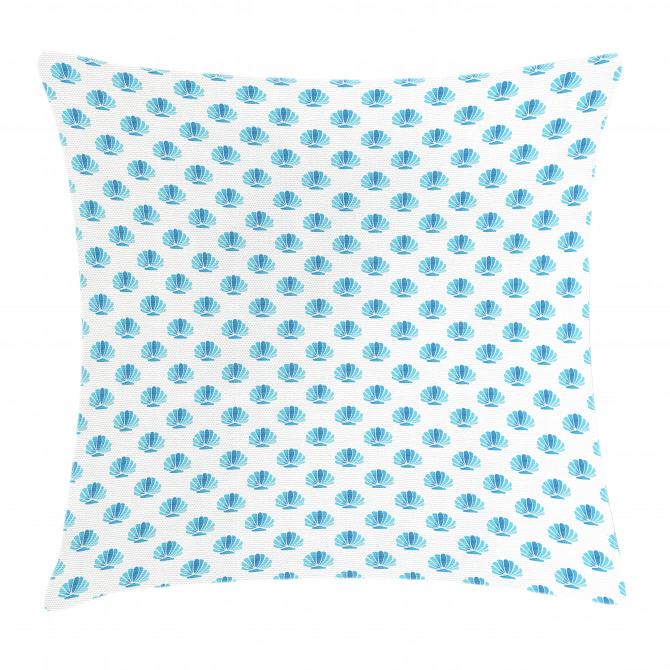 Blended Aquatic Design Pillow Cover