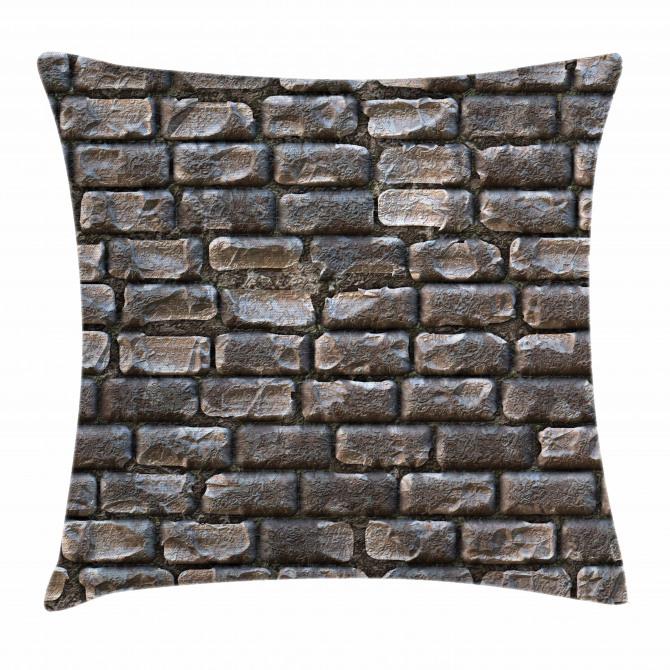 Fuliginous Tiles Pillow Cover