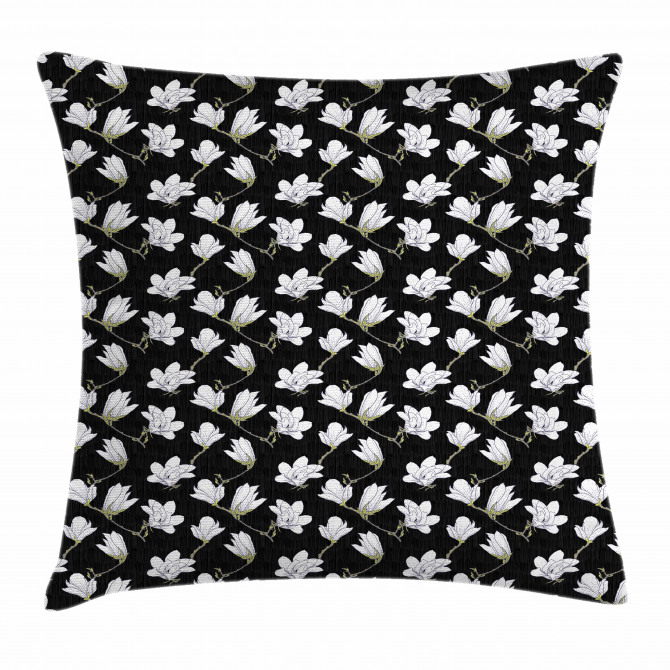 Countryside Flowers Pillow Cover