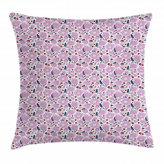 Garden Art Pattern Pillow Cover