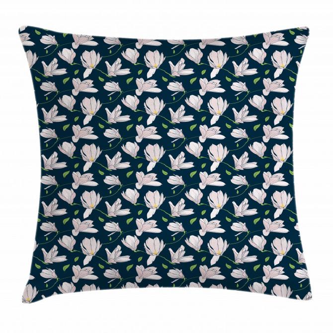 Japanese Sakura Flower Pillow Cover
