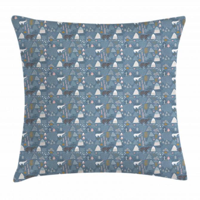 Scandinavian Wildlife Pillow Cover