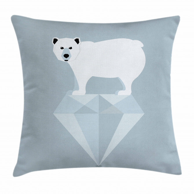 Geometric Animal Pillow Cover