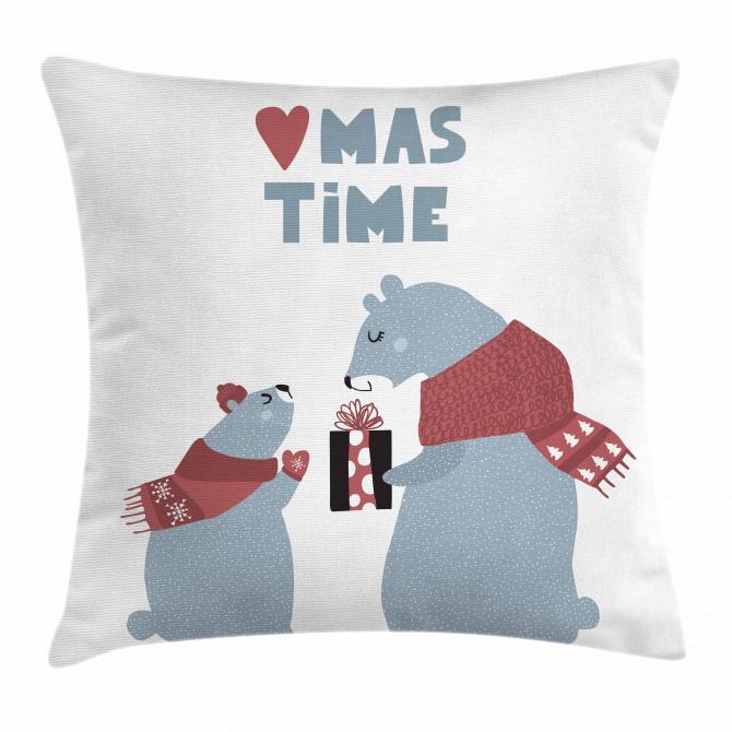 Present Mom Xmas Pillow Cover