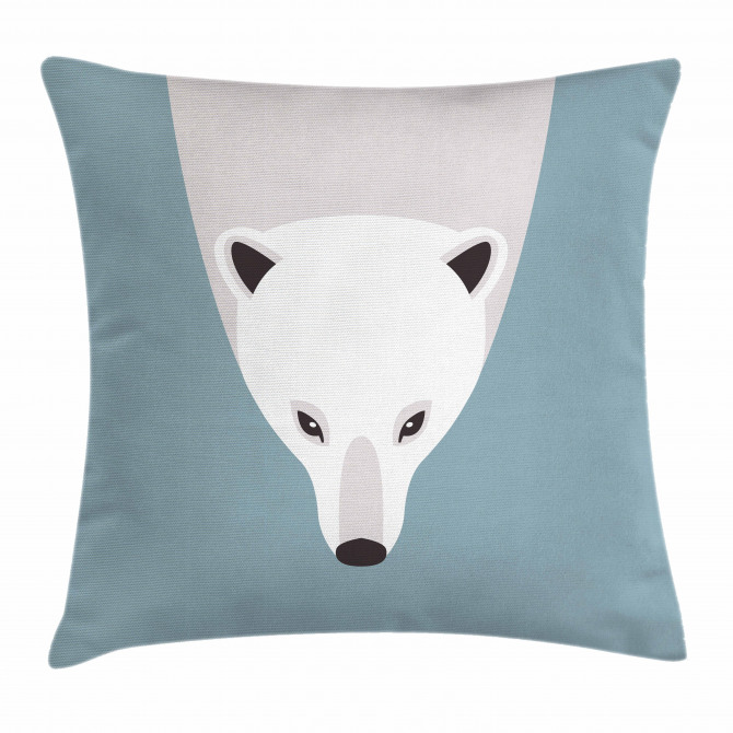Artistic Flat Design Pillow Cover
